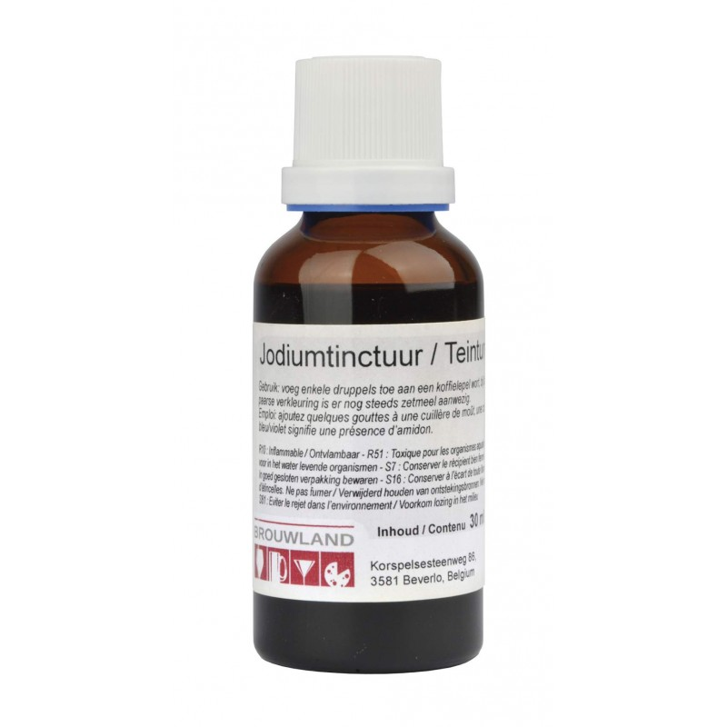 tincture of iodine, starch-determ. 30ml
