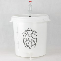 Brewing/fermentation bucket 30L graduate