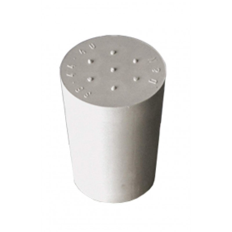 Rubber bung 17 to 22mm - 9 mm hole