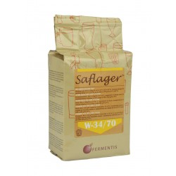 Dried brewing yeast SAFLAGER W34/70 11.5g