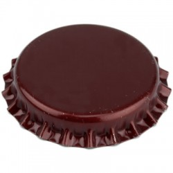 Crown caps 26mm - red wine