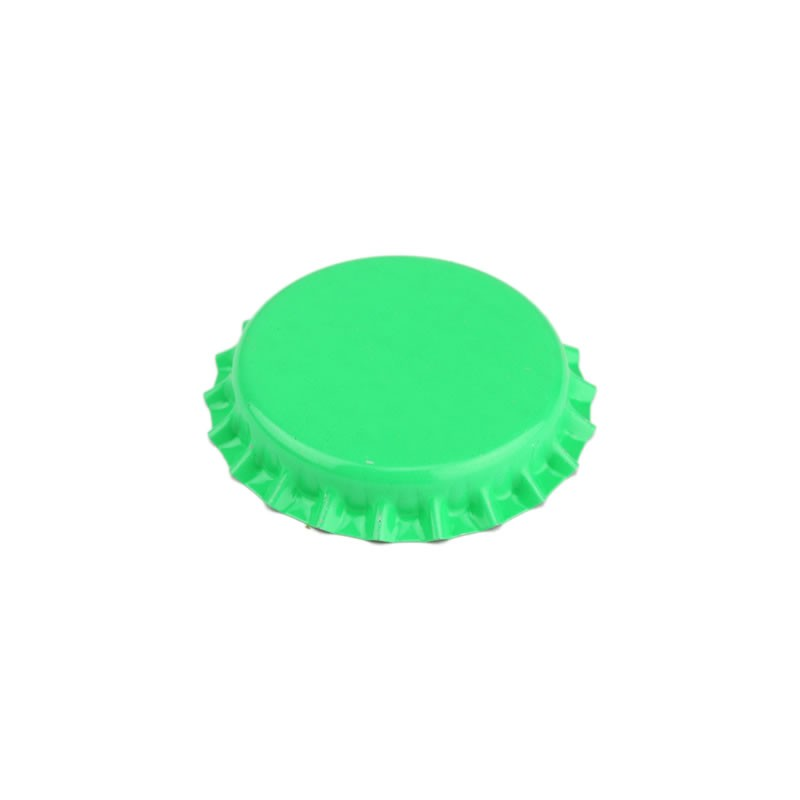 Crown caps 26mm - green