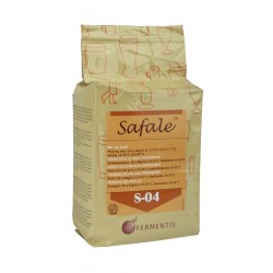 Dried brewing yeast SAFALE S-04