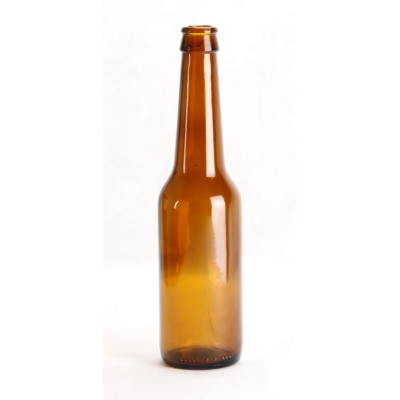Beerbottle Long Neck 33cl brown 26mm x24