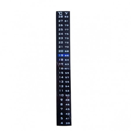 Strip thermometer 4-28 degres C