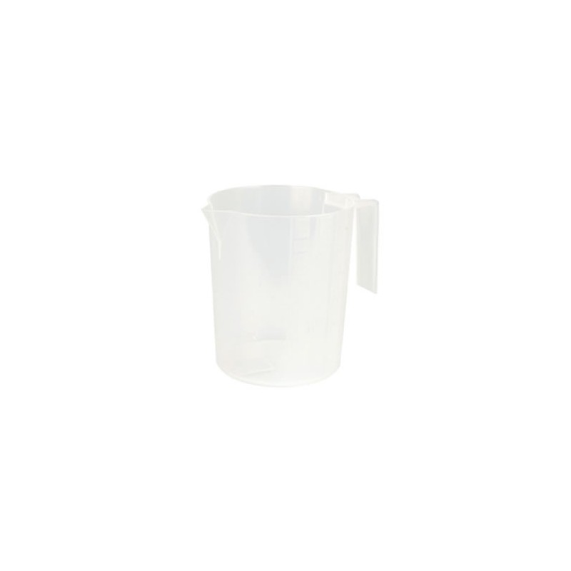 Measuring jug graduated plastic 1L