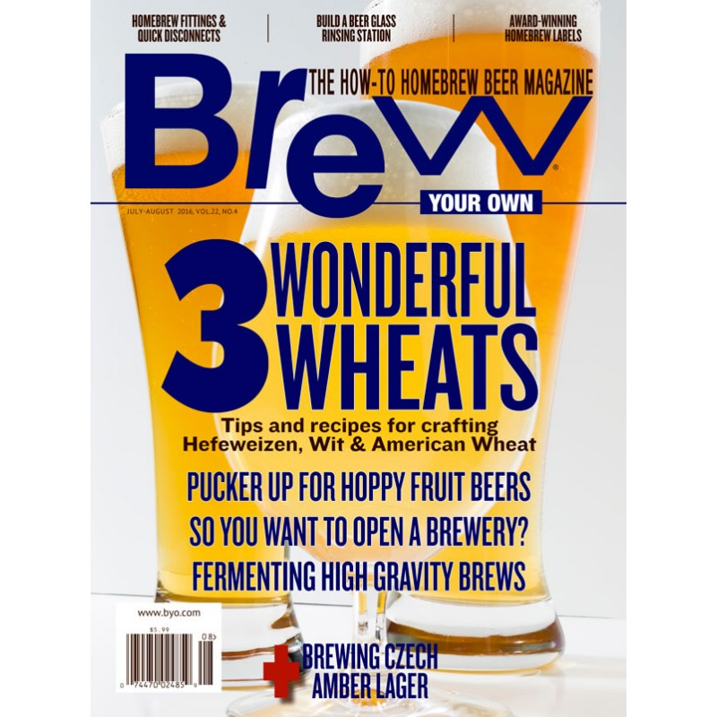 BYO - Revue Brew Your Own July-August 2016