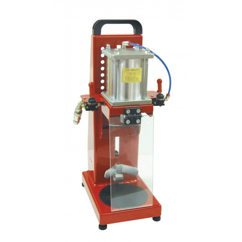 Pneumatic table top crown capper