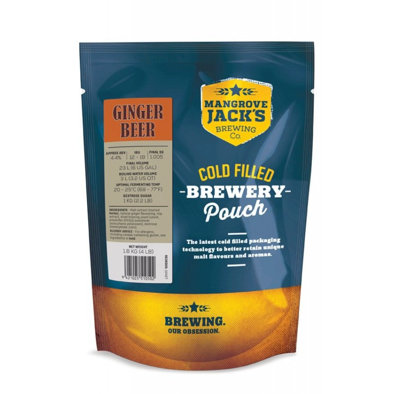 Ginger Beer Pouch