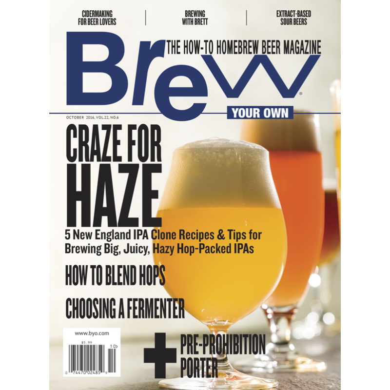 BYO - Revue Brew Your Own October 2016