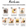 FastLabel beer label sleeves - 330 ml - 70 pcs