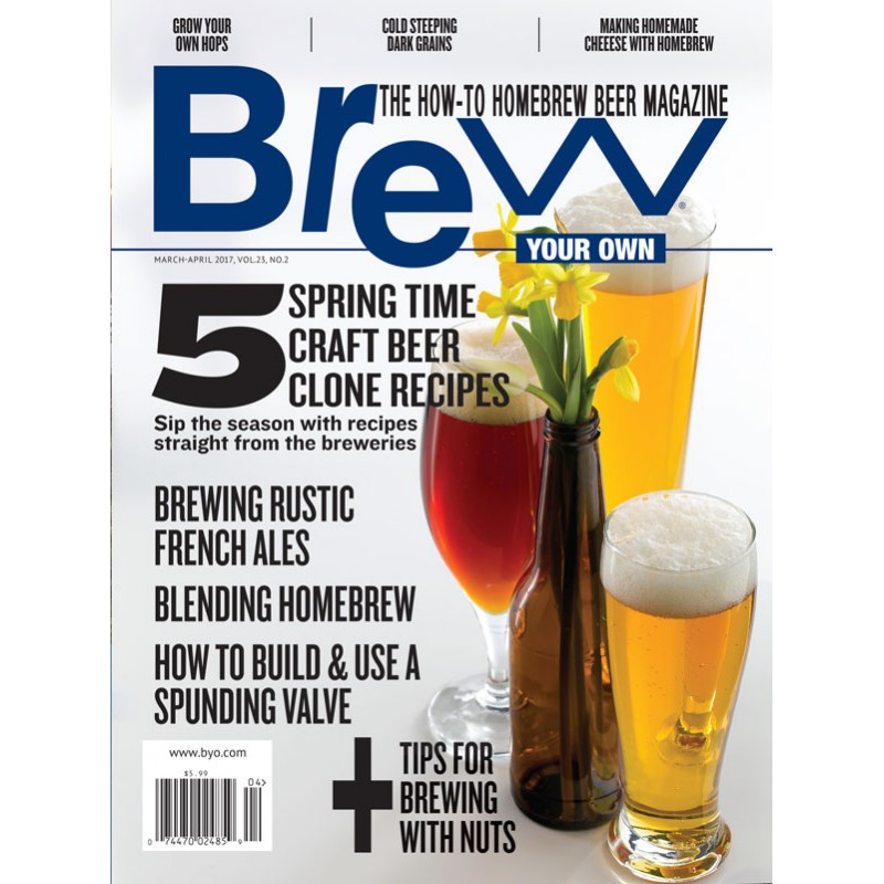 BYO - Revue Brew Your Own Mars/Avril 2017