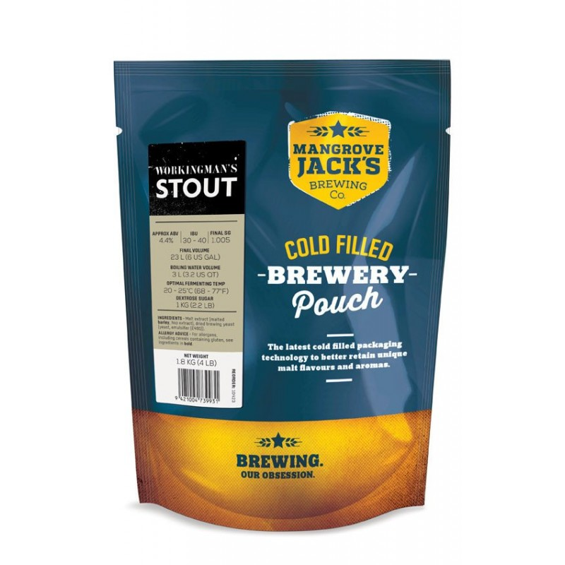 MJ Traditional Series Export Stout - 1.8kg (Workingmans)