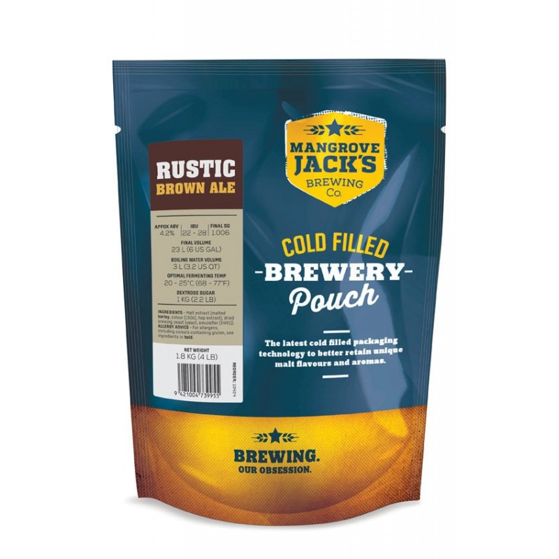 MJ Traditional Series Brown Ale Pouch - 1.8kg (Rustic)