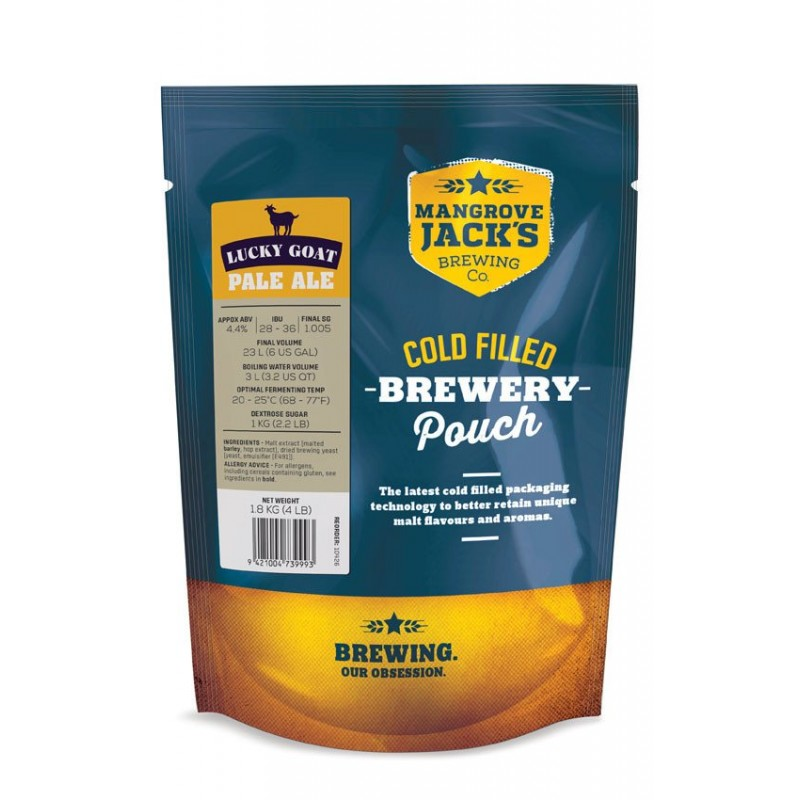 MJ Traditional Series Pale Ale Pouch - 1.8kg (Lucky Goat)