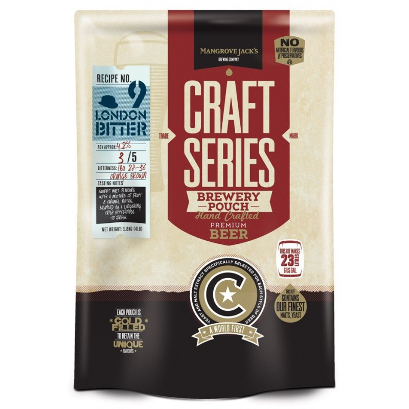 Mangrove Jack's Craft Series London Bitter Pouch -1.8kg