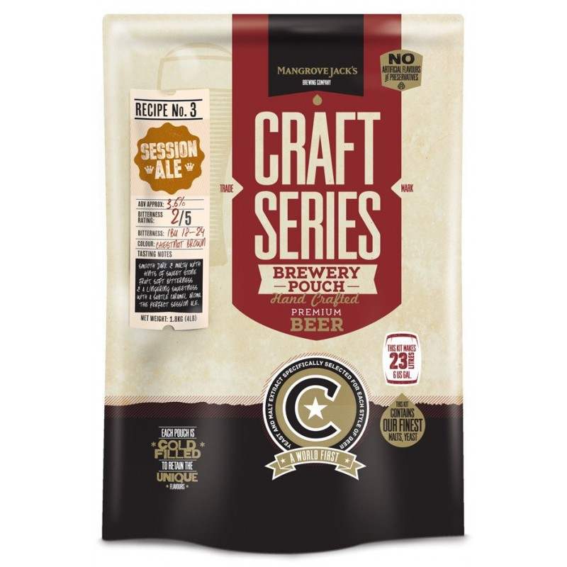 Mangrove Jack's Craft Series Session Ale Pouch - 1.8kg