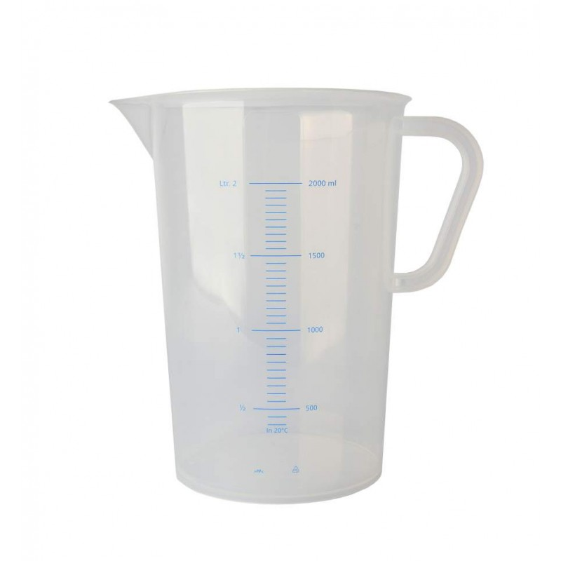 Measuring jug polypropylene graduated 2000ml