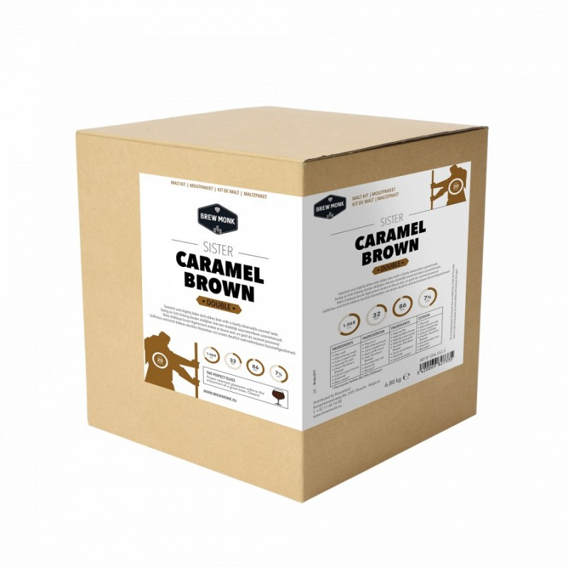 Brew Monk Malt kit - Sister Caramel Brown - for 20 l