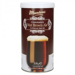 Kit de bière Muntons Nut Brown Ale 1,8 kg