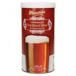 Kit de bière Muntons Traditional Bitter 1,8 kg