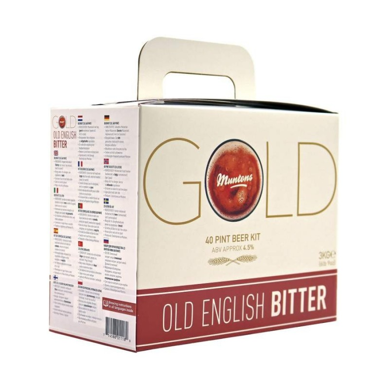Kit de bière Muntons Gold Old English bitter 3 kg