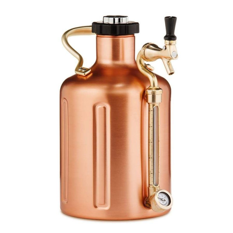 GrowlerWerks uKeg™ 128 copper-plated - 3.8 l