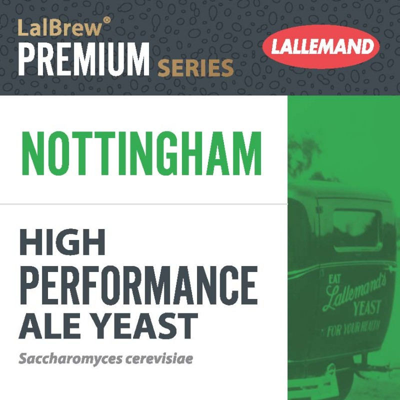 Dried brewing yeast Nottingham