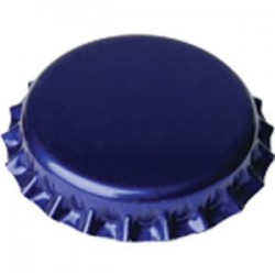 Crown caps 26mm - blue