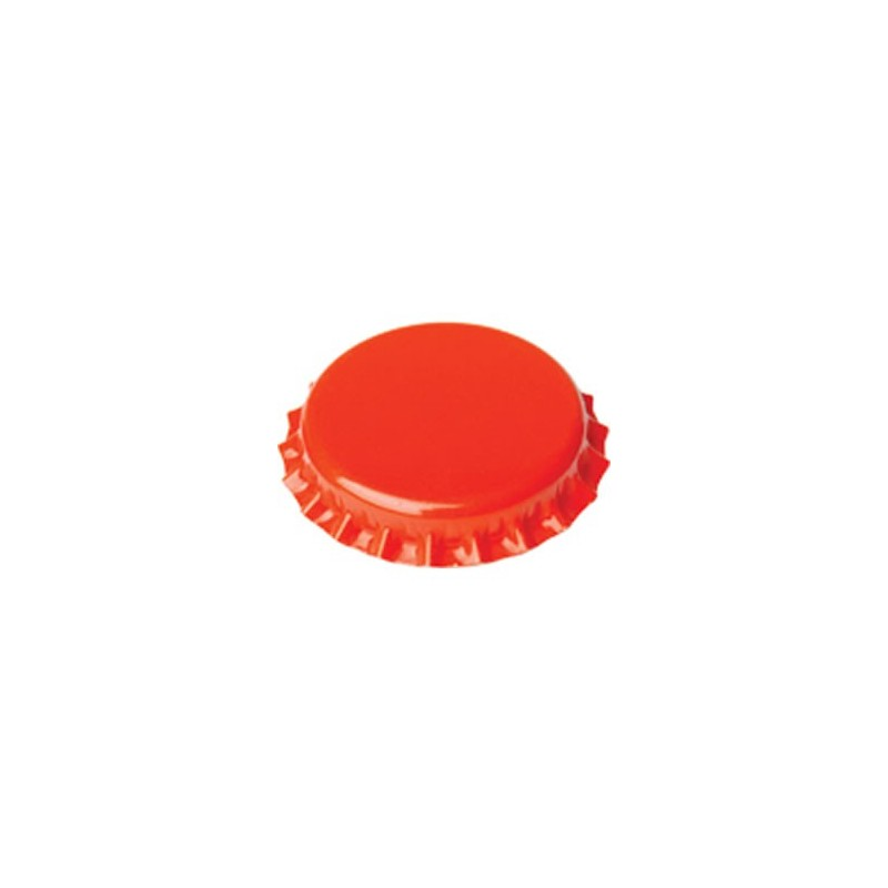 Crown caps 26mm - orange