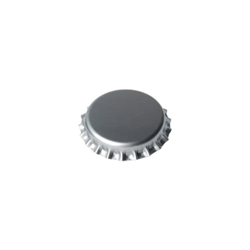 Crown caps 29mm - silver