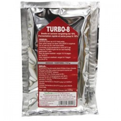 TURBO-8 yeast alcoferm for 25L