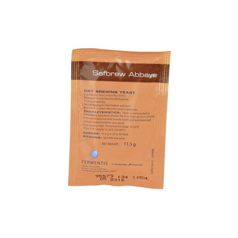 Dried brewing yeast SAFBREW BE-256 (Abbaye)