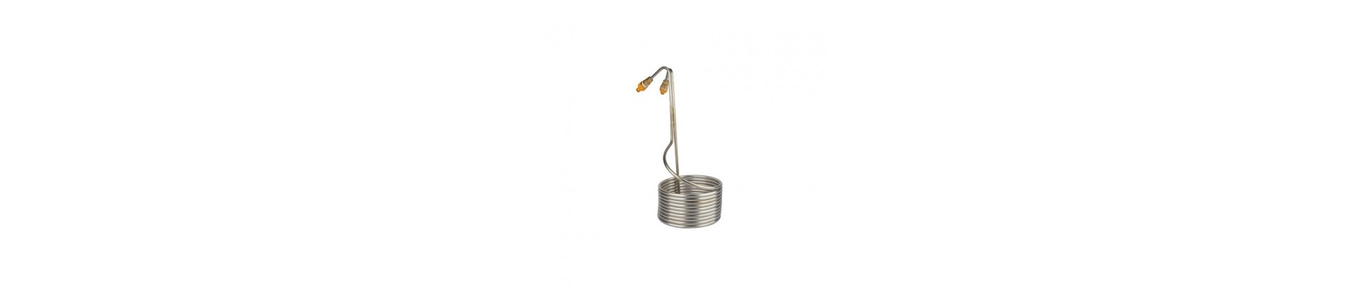 Stainless steel coil chiller